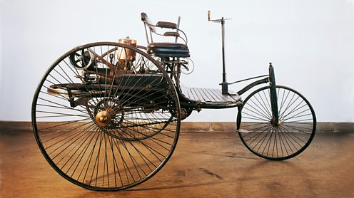 Karl Benz's first automobile.De Agostini Picture Library