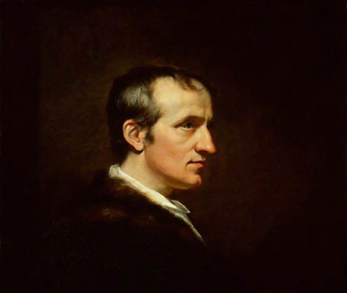 Painting of William Godwin by James Northcote