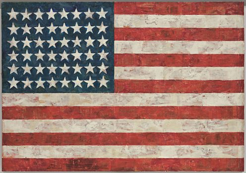 Flag pop art