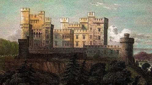 Mitchelstown Castle in County Cork