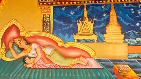 Life of the Buddha - Preah Prom Rath Monastery