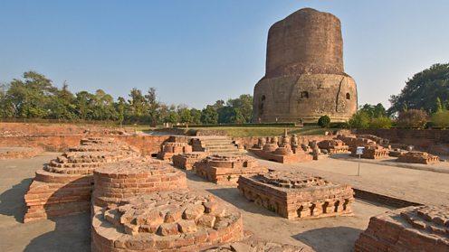 The 5th Century Dhamekh Stupa, Sarnath