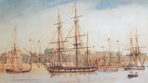 HMS Beagle was Darwin's home for five years