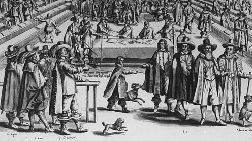 Oliver Cromwell dismissed the rump parliament