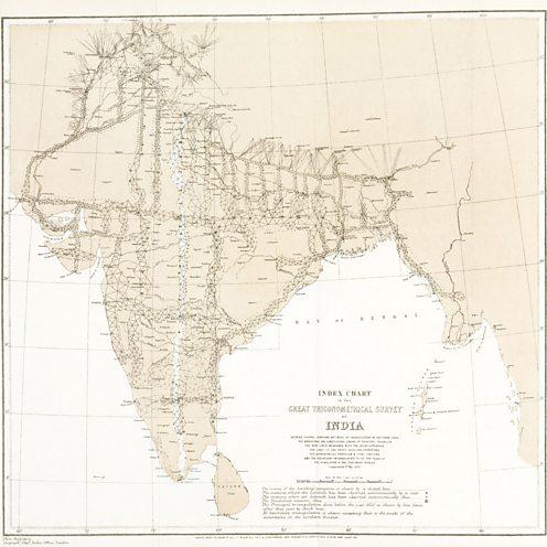 India survey map full