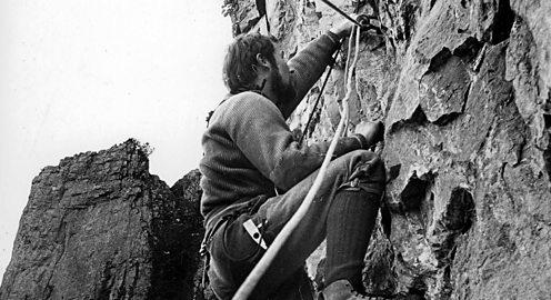 Bonnington training climb