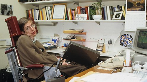 Stephen Hawking 1989