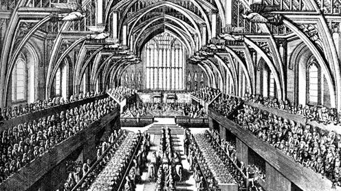 The coronation of James II