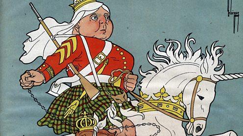 Queen Victoria cartoon