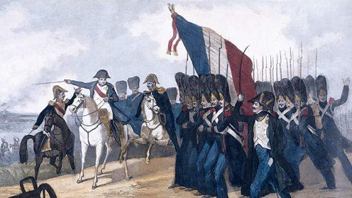 Napoleon on the ridge