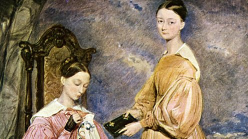 Sisters parthenope and florence