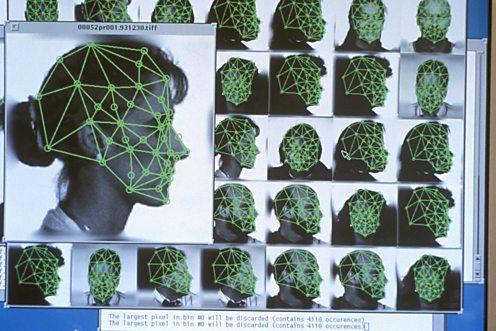 Face detection via computer