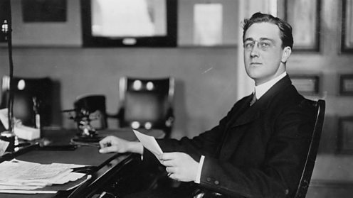 Franklin D Roosevelt (FDR) as Assistant Secretary to the Navy
