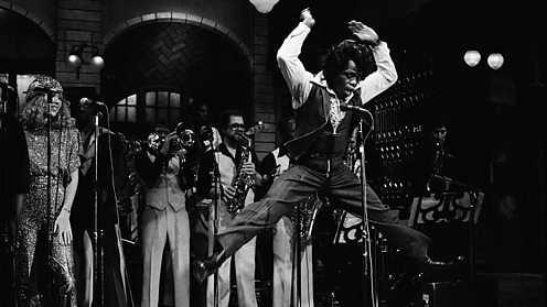 James Brown on Saturday Night Live, 1980