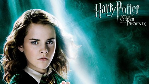 Detail from Harry Potter film poster