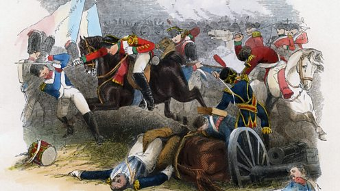 British forces under Wellington's command routed the French at Salamanca.