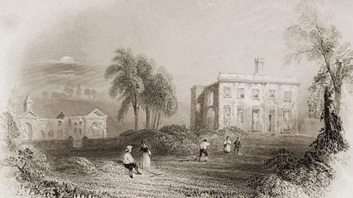 Dangan Castle, childhood home of the Duke of Wellington, Arthur Wellesley