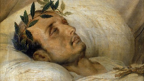 Napoleon Bonaparte on his deathbed
