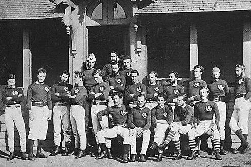Scotland who beat England 1871 in Rugby Union's first ever International match