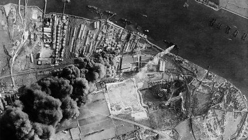 Port bombed