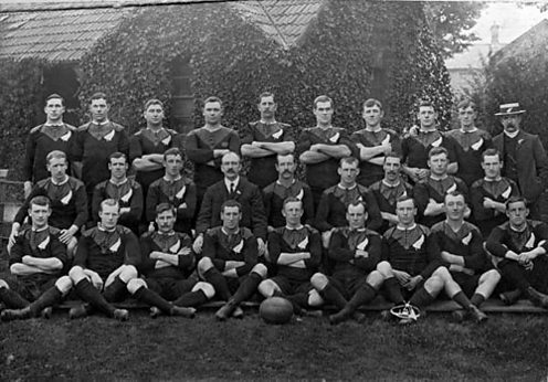 The 1905 All Blacks originally called the Originals