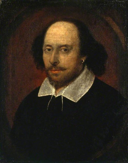William Shakespeare by John Taylor. (c) National Portrait Gallery