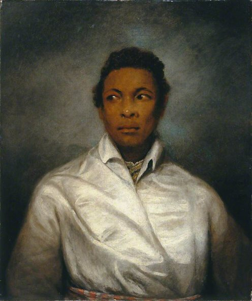 Othello, the Moor of Venice by James Northcote. (c) National Portrait Gallery