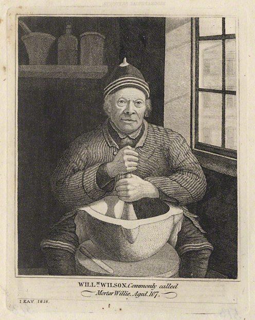 William Wilson by John Kay. (c) National Portrait Gallery