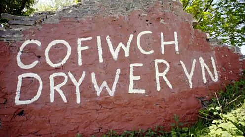 Remember Tryweryn graffiti