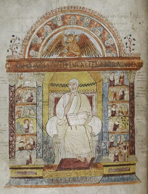 Page from the St Augustine gospels