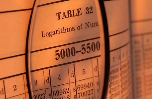 Book of logarithm tables