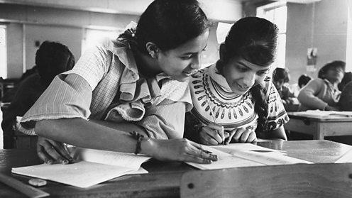 Asian schoolchildren in 1970s