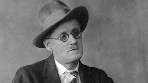 Irish writer James Joyce