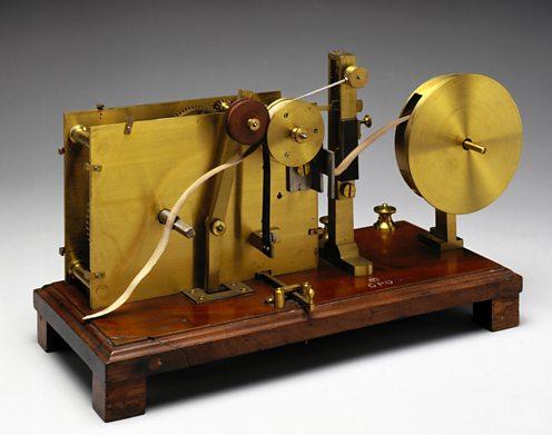 Alexander Bain's chemical telegraph.