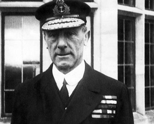 Commander Of The British Grand Fleet Admiral Sir John Jellicoe