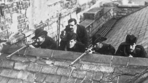 Easter Rising: Rebels on the rooftops