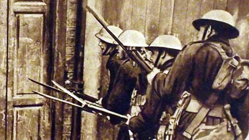 Easter Rising: British troops