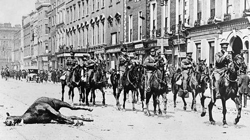 Dead horses, Dublin Easter 1916