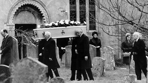 Agatha Christie Funeral