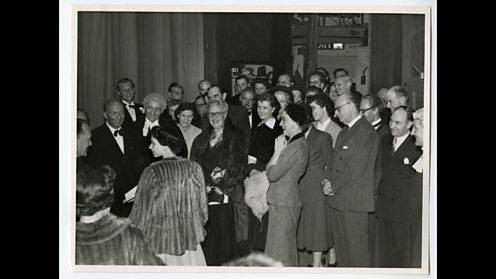 Agatha Christie meets the Queen