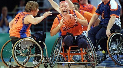 Netherlands basketball team Sydney 2000 Paralympics