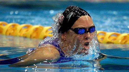 Trischa Zorn paralympian swimmer