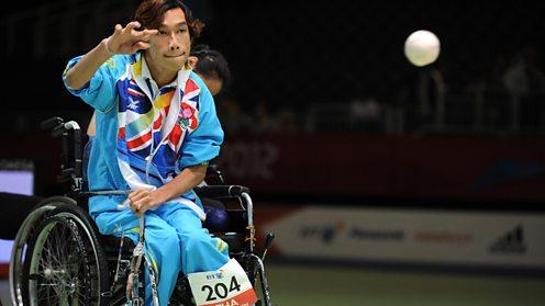 Boccia Paralympics