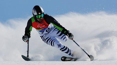 German Paralympic skier winter olympics