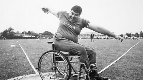 1972 Heidelberg paralympics discus event
