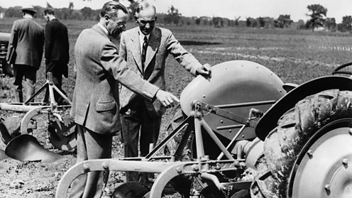 BBC - iWonder - Harry Ferguson: Planes, tractors and automobiles
