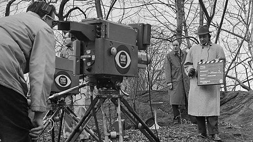 Roald Dahl filming Way Out