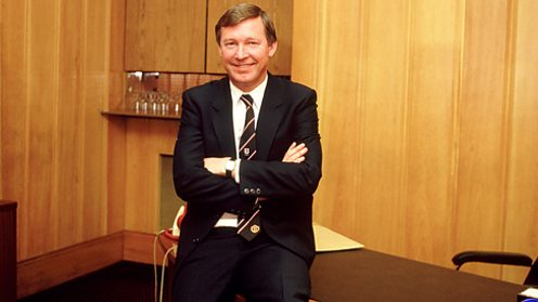 Alex Ferguson's first day in charge at Manchester United.