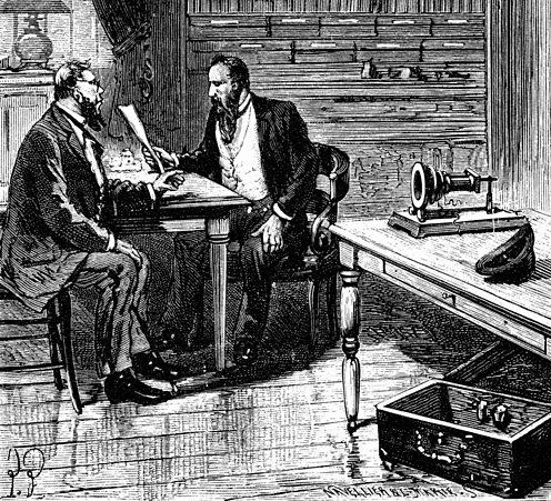 Bell filing paperwork