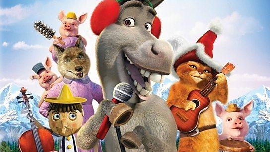 Donkey's Caroling Christmas-tacular